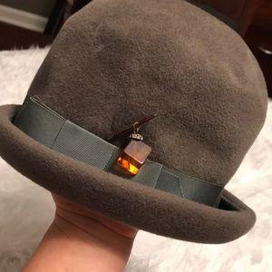 Grey Vintage Suzy Michelle Hat